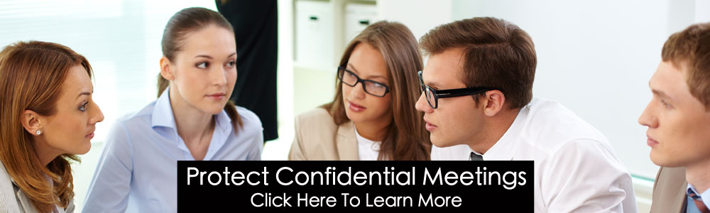 Protect confidential meetings